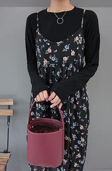 블루밍-쉬폰 (ops)[size:44~66]로맨틱한 플라워 패턴의 쉬폰 원피스♥ 롱한 기장감으로 누구나 안정감 있게♥ 기본티와 가볍게 입기 좋아요!